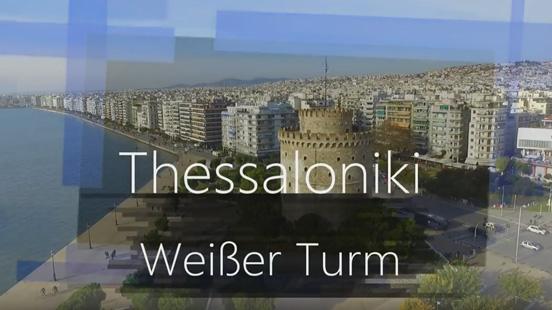 Thessaloniki - Weißer Turm / Griechenland